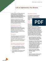 4 Rulebook on Informative Tax Return January 2013