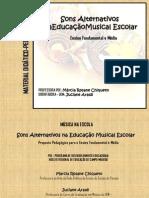 sons alternativos na educação musical escolar