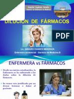 DILUCIÓN DE FÁRMACOS ENFERMERIX