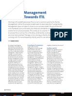Facilities Management - Moving Towards ITIL