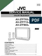 AV27F703 Service Manual