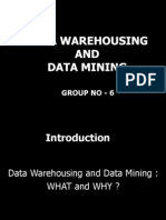 Data Warehousing & Data Mining Slides