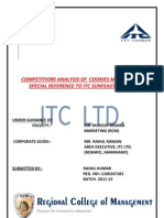 project report of ITC LTD