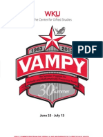VAMPY 2013 Application