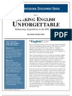 Making English Unforgettable