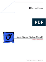 Apple Cinema Display (20-Inch) Service Manual