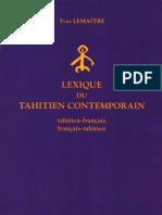 diccionario tahitienne