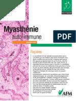 Brochure Myastenie