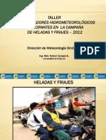 Heladas Friajes Nelson 07-12-2012
