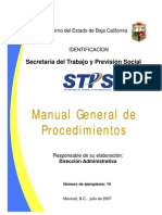 Manual de procedimientos de la STPS.pdf
