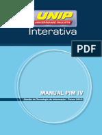 Manual Pim IV Gti 2012