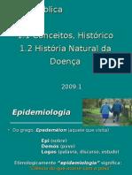 Apresentação História Natural Da Doença 2009.1