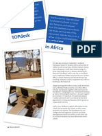 TOPdesk in Africa