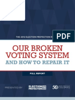 The 2012 Election Protection Report