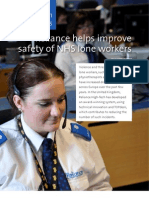 Reliance Helps Improve NHS Lone Workers Safety