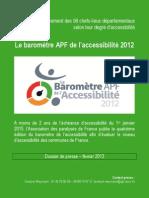 Le classement des villes accessibles aux handicapés