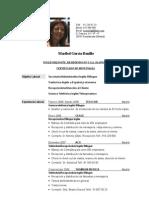 Cv Maribel García Bonillo