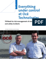 Everything Under Control at Océ Technologies - TOPdesk for risk management of environmental and safety incidents