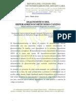 Diagnóstico del Hiperadrenocorticismo canino