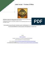 Incantesimi Arcani 2.0 Beta! (Formato Provvisorio)
