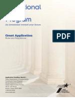 2013 Cgp Application