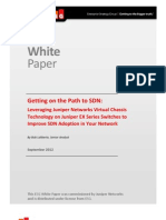 Getting on the Path to SDN