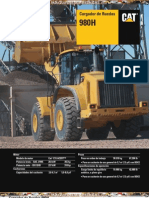 Catalogo Cargador Frontal 980h Caterpillar