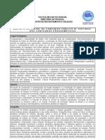 Anexo II Edital Abertura Conteudos Programaticos
