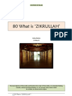 080 What is 'Zikrullah'?