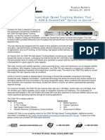 CDM-750 Product Bulletin