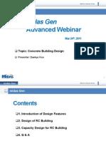2nd MIDAS Gen Advanced Webinar