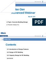 2nd MIDAS Gen Advanced Webinar