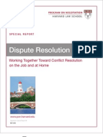 9 Dispute Resolution