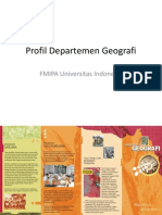 Profil Departemen Geografi UI