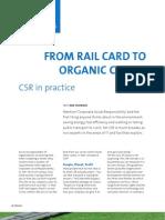 From Rail Card to Organic Coffee