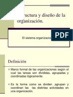 RBARRANTES Estructura y Diseno de La Organizacion