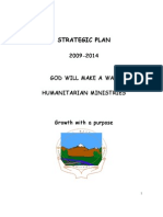Strategic Plan of God Will Make A Way Ministries:2009-2014