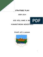 Strategic Plan of God Will Make A Way Ministries:2009-2014