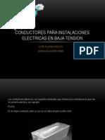 Conductores Para Instalaciones Electricas en Baja Tension