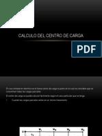 Calculo Del Centro de Carga