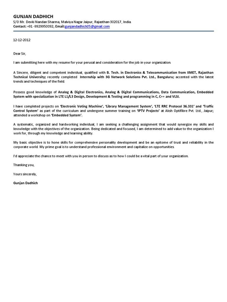 Gunjan Resumecx Communications Protocols Lte Telecommunication