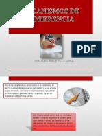 Mecanismos de Coherencia y Modos Discursivos