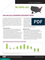 State and Local Government Employment Trends