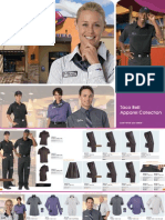 Taco Bell Uniform Catalog