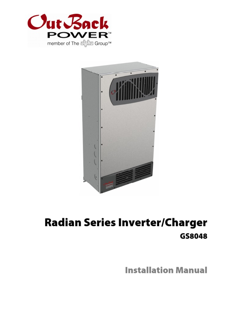 Outback radian gs8048 installation manual battery electricity outback radian gs8048 installation manual battery electricity power inverter publicscrutiny Choice Image