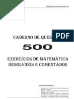 500 Questões de Matemática, Resolvidas e Comentadas pelo prof. Joselias Santos (2)
