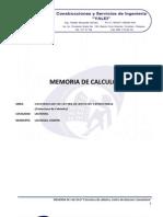 Memoria de Calculo Estructura Casa Ejidal