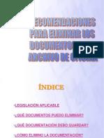 01 Recomendaciones Para Eliminar Los Documentos en Los Archivos de Oficina