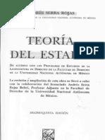 Andres Serra Rojas Teoria Del Estado P. 193 - 243