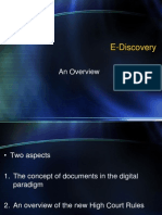 Managing E-Discovery in New Zealand - Keynote Address